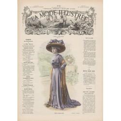 Complete magazine La Mode Illustrée 1909 N°28