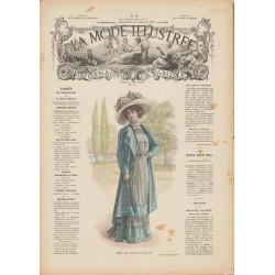 Complete magazine La Mode Illustrée 1909 N°30