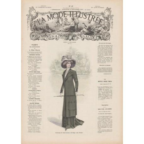 Complete magazine La Mode Illustrée 1909 N°39