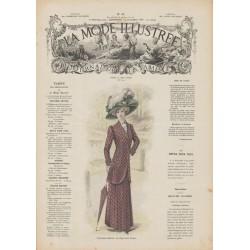 Complete magazine La Mode Illustrée 1909 N°43