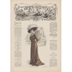 Complete magazine La Mode Illustrée 1909 N°48