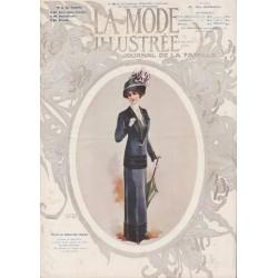 Complete magazine La Mode Illustrée 1911 N°15