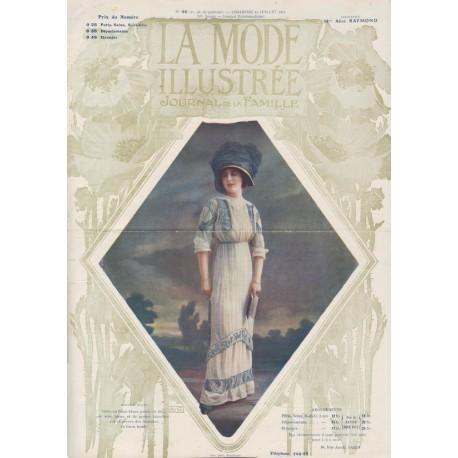 Complete magazine La Mode Illustrée 1911 N°30