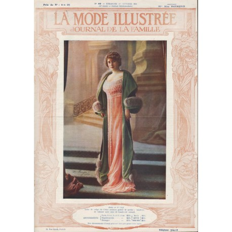 Complete magazine La Mode Illustrée 1911 N°40