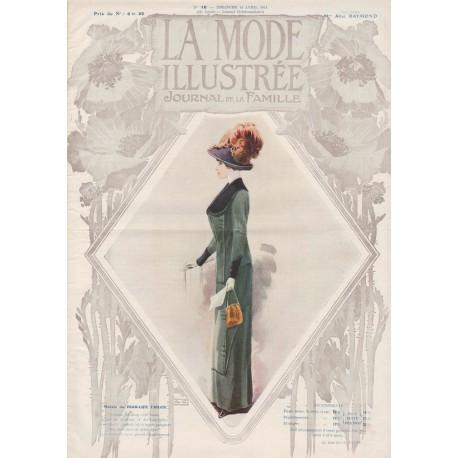 Complete magazine La Mode Illustrée 1911 N°16