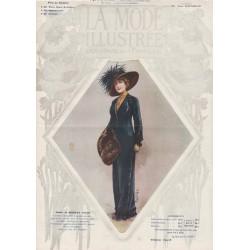 Complete magazine La Mode Illustrée 1911 N°41