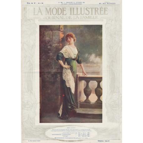 Complete magazine La Mode Illustrée 1911 N°42