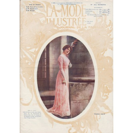 Complete magazine La Mode Illustrée 1911 N°48