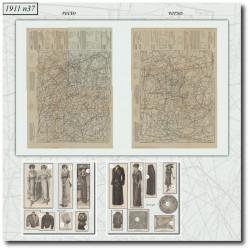 Sewing patterns La Mode Illustrée 1911 N°37