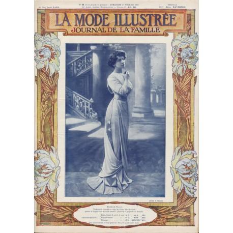 Complete magazine La Mode Illustrée 1910 N°09