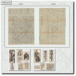 Patrons de La Mode Illustrée 1910 N°22