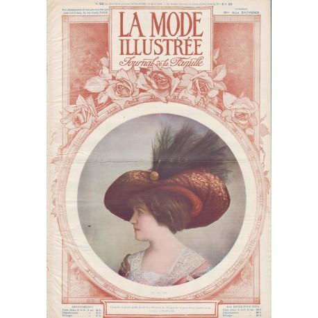 Complete magazine La Mode Illustrée 1910 N°22