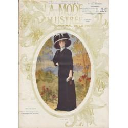 Complete magazine La Mode Illustrée 1910 N°37