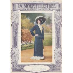 Revue complète de La Mode Illustrée 1910 N°38