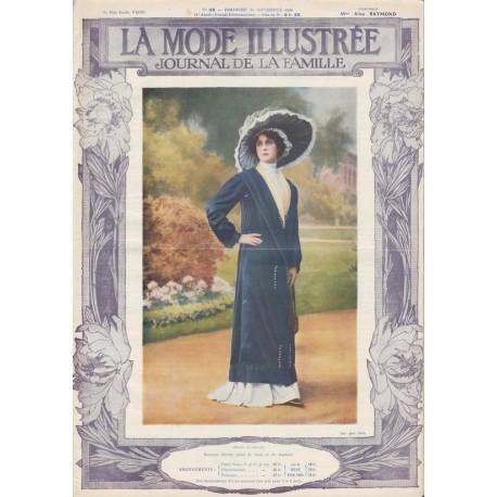 Complete magazine La Mode Illustrée 1910 N°38