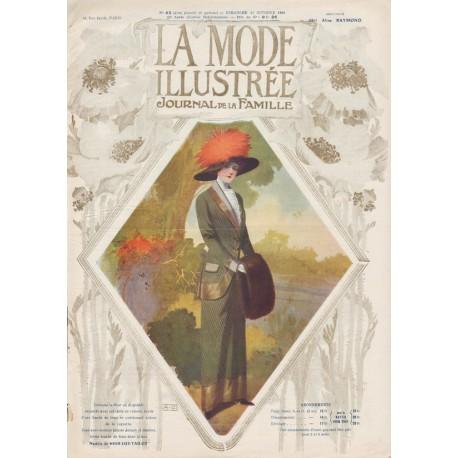 Complete magazine La Mode Illustrée 1910 N°43