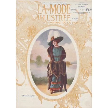Complete magazine La Mode Illustrée 1910 N°45