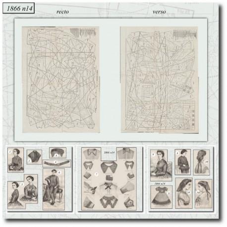 Sewing patterns Mode Illustrée 1866 14