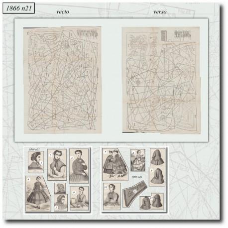 Sewing patterns Mode Illustrée 1866 21