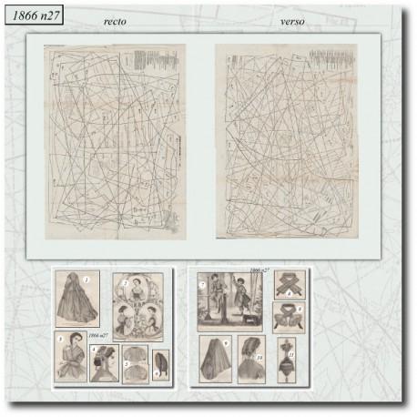 Sewing patterns Mode Illustrée 1866 27