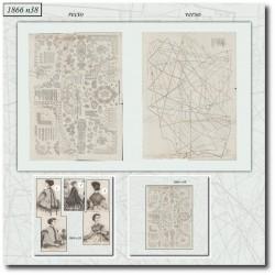 Sewing patterns Mode Illustrée 1866 38