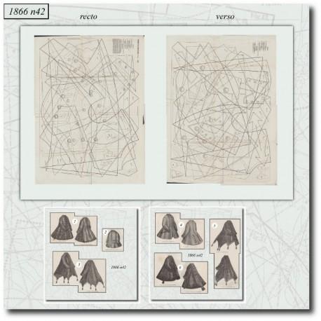 Sewing patterns Mode Illustrée 1866 42