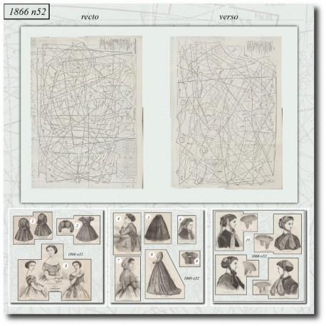 Sewing patterns Mode Illustrée 1866 52
