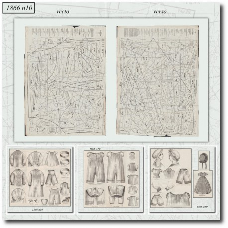 Sewing patterns Mode Illustrée 1866 10