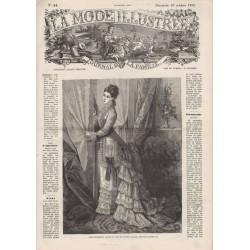 Revue complète de La Mode Illustrée 1876 N°44