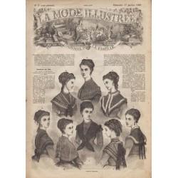Revue complète de La Mode Illustrée 1869 N°03