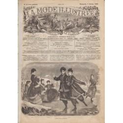 Complete magazine La Mode Illustrée 1869 N°06