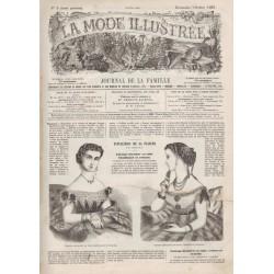 Revue complète de La Mode Illustrée 1867 N°05
