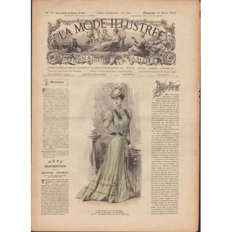 Complete magazine La Mode Illustrée 1905 N°16