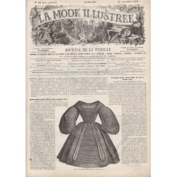 Complete magazine La Mode Illustrée 1861 N°48