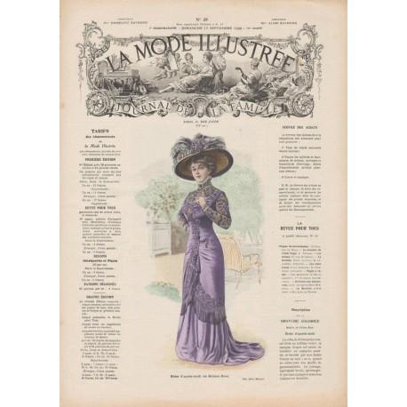 Complete magazine La Mode Illustrée 1909 N°38