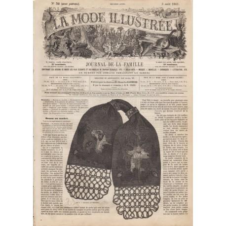 Revue complète de La Mode Illustrée 1861 N°32
