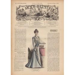 Complete magazine La Mode Illustrée 1900 N°5