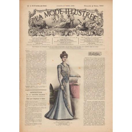 Revue complète de La Mode Illustrée 1900 N°5