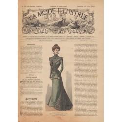 Complete magazine La Mode Illustrée 1900 N°20