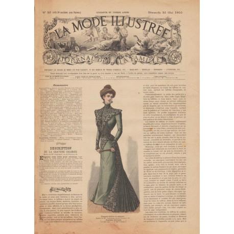 magazine La Mode Illustrée 1900-20