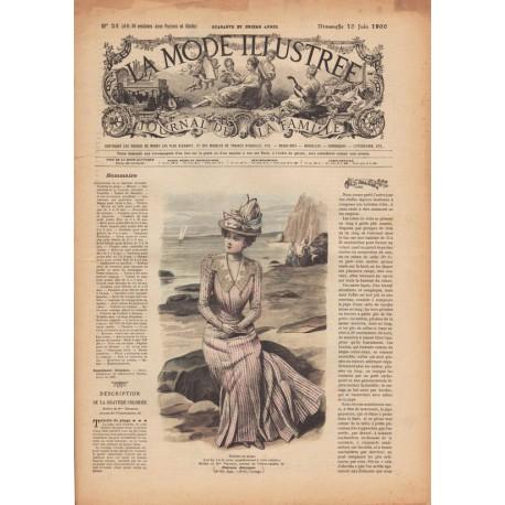 Complete magazine La Mode Illustrée 1900 N°23