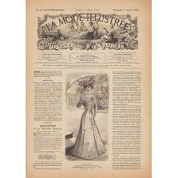 Revue complète de La Mode Illustrée 1900 N°27