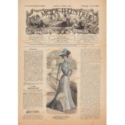 Revue complète de La Mode Illustrée 1900 N°31