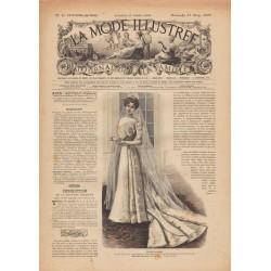 Complete magazine La Mode Illustrée 1900 N°10