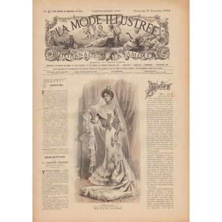 Revue La Mode Illustrée 1902 N°48
