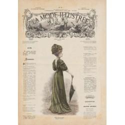 Complete magazine La Mode Illustrée 1908 N°17