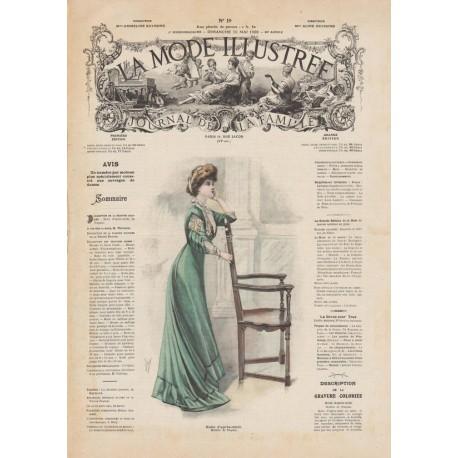 Complete magazine la Mode Illustrée 1908 19