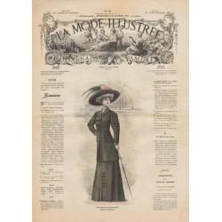 Complete magazine La Mode Illustrée 1908 N°50