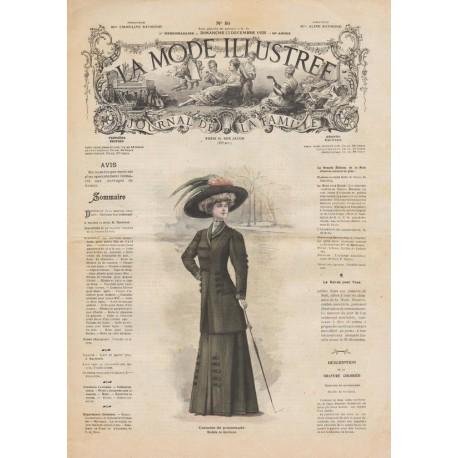Revue complète de La Mode Illustrée 1908 N°50