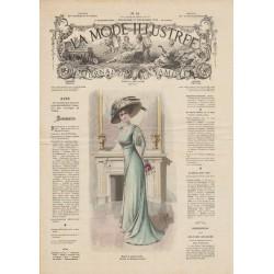 Revue complète de La Mode Illustrée 1908 N°52